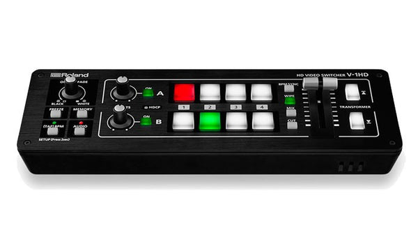 Roland V-1HD HD Video Switcher hero shot