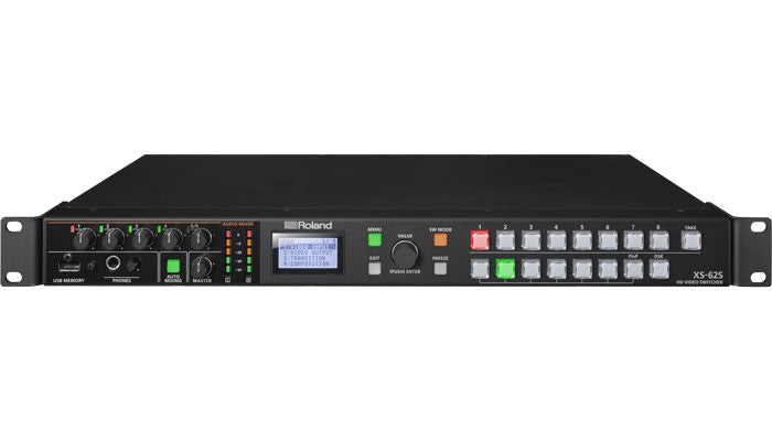 Roland XS-62S HD Video Switcher Hero