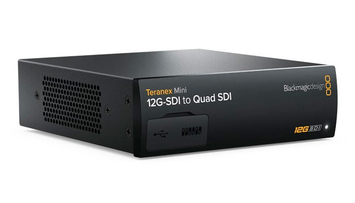 Blackmagic Teranex Mini - 12G-SDI to Quad SDI Hero