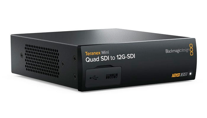 Blackmagic Teranex Mini - Quad SDI to 12G-SDI Hero