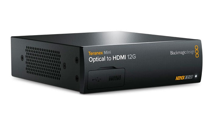 Blackmagic Teranex Mini - Optical to HDMI 12G Hero