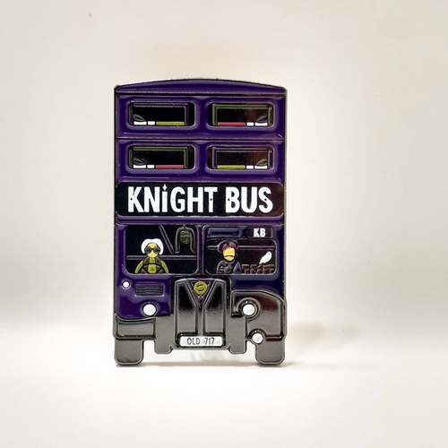 HPinstreet KNIGHT BUS enamel PIN :: by BUNCEandBEAN