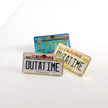 OUTATIME enamel PIN :: by BUNCEandBEAN