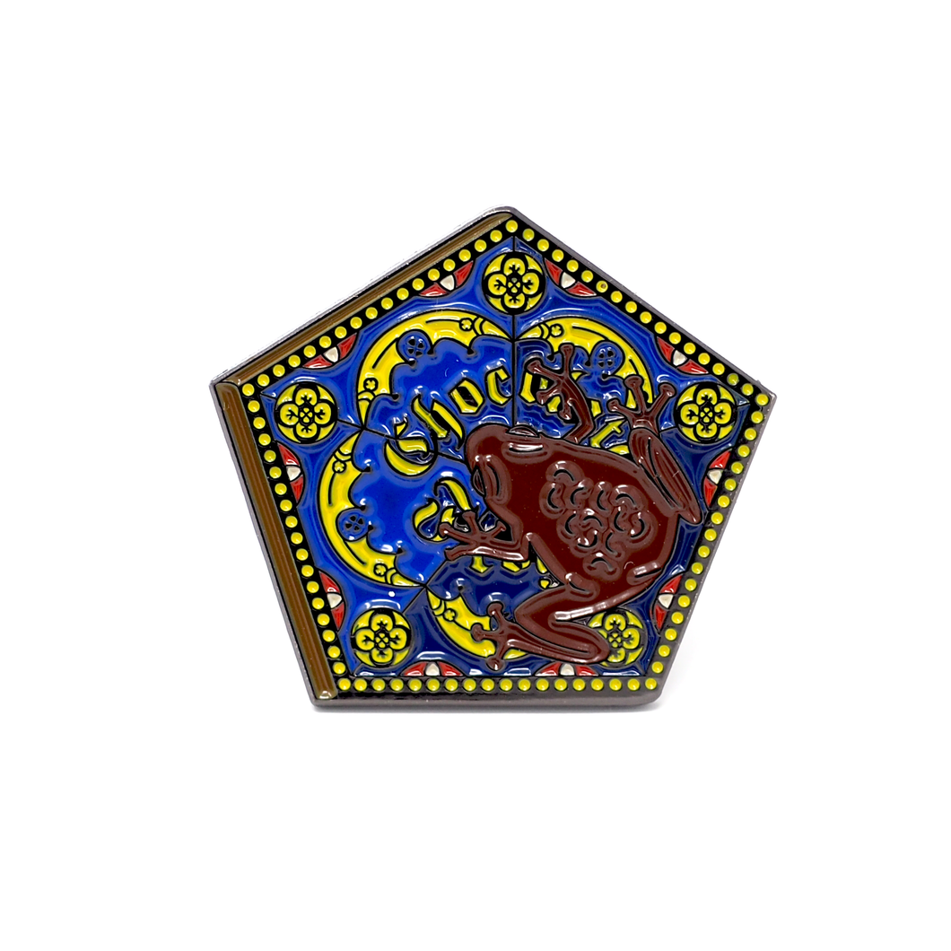 CHOCOLATE FROG enamel PIN :: by BUNCEandBEAN