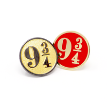 PLATFORM 9 3/4 enamel PIN :: by BUNCEandBEAN