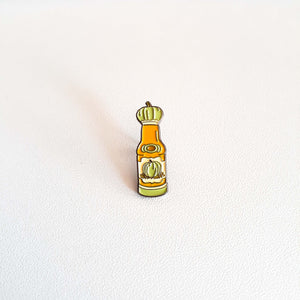 HPygmy mini PUMPKIN DRINK enamel PIN :: by BUNCEandBEAN