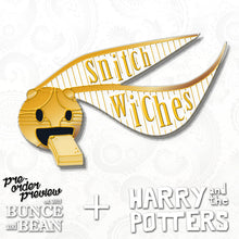 GOLDEN SNITCH articulating enamel PIN :: by BUNCEandBEAN