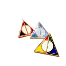 DEATHLY HALLOWS enamel PIN :: by BUNCEandBEAN