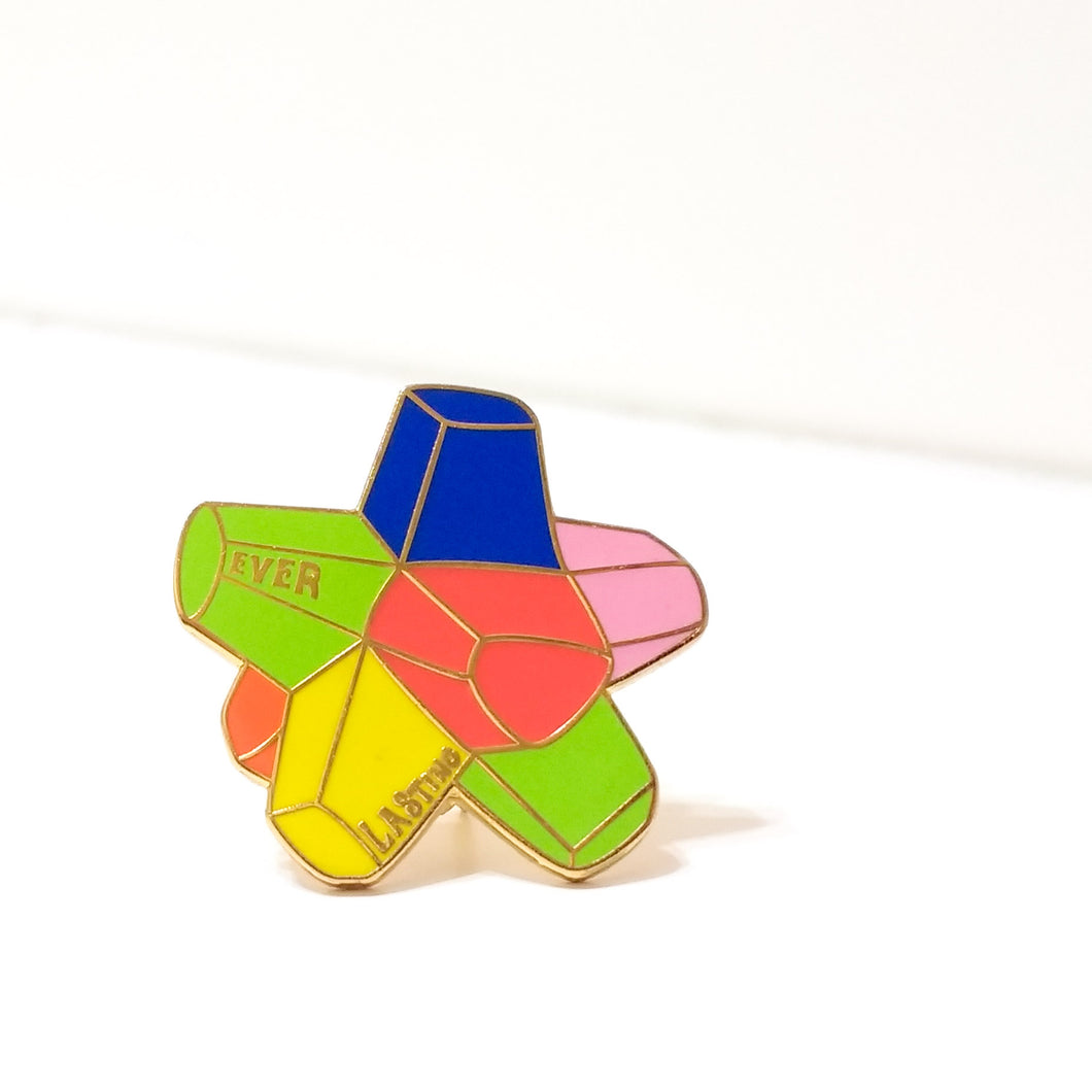 Willy Wonka EVERLASTING GOBSTOPPER enamel PIN :: by BUNCEandBEAN