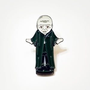 HARRY POCKETS 15 enamel PIN - Lil' Voldy :: by BUNCEandBEAN