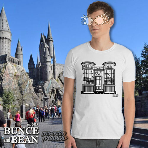 VAULT - Ollivander's Short Sleeve T-Shirt / Getting ready to go to Hogwarts in Diagon Alley HPinstreet / by BUNCEandBEAN