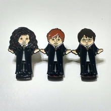 HARRY POCKETS 1-3 enamel PIN - Harry, Ron, Hermione :: by BUNCEandBEAN
