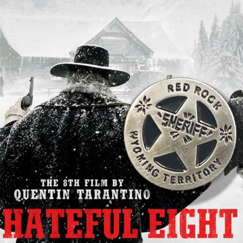 VAULT - RED ROCK SHERIFF badge Hateful Eight 8 PIN / by BUNCEandBEAN