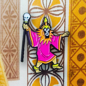 Scooby-Doo villain TIKI WITCH DOCTOR enamel PIN :: by BUNCEandBEAN