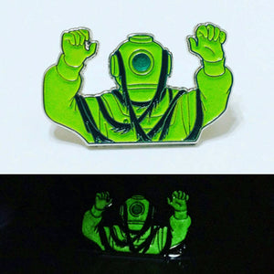 VAULT - SCOOBY DOO villain Captain Cutler enamel lapel PIN / by BUNCEandBEAN