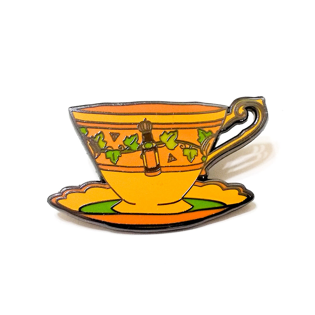HPcups PUMPKIN JUICE enamel PIN :: by BUNCEandBEAN