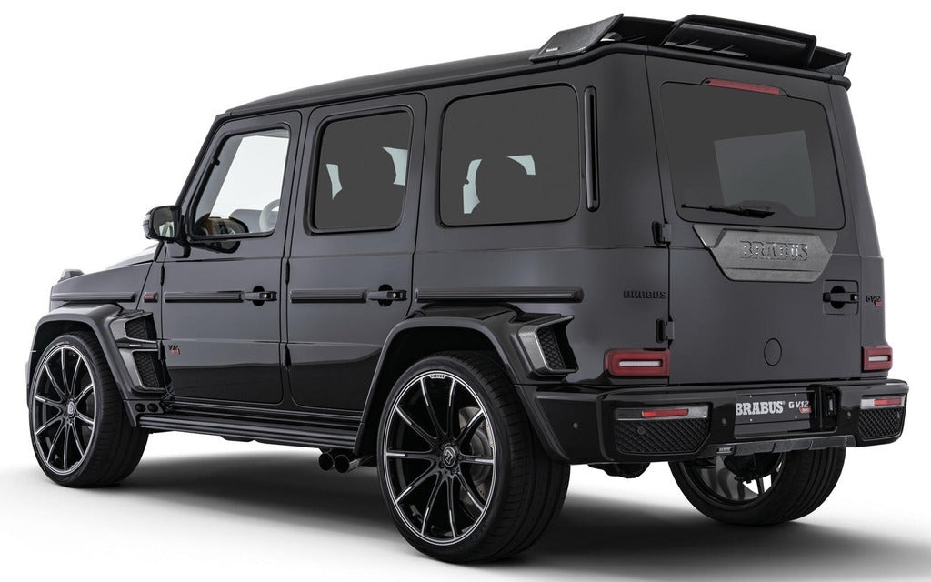 "22 Inch Rims Fit Mercedes G Wagon G550 G65 G63 G55 G500 Brabus ""PLATINUM EDITION"" Style Wheels"