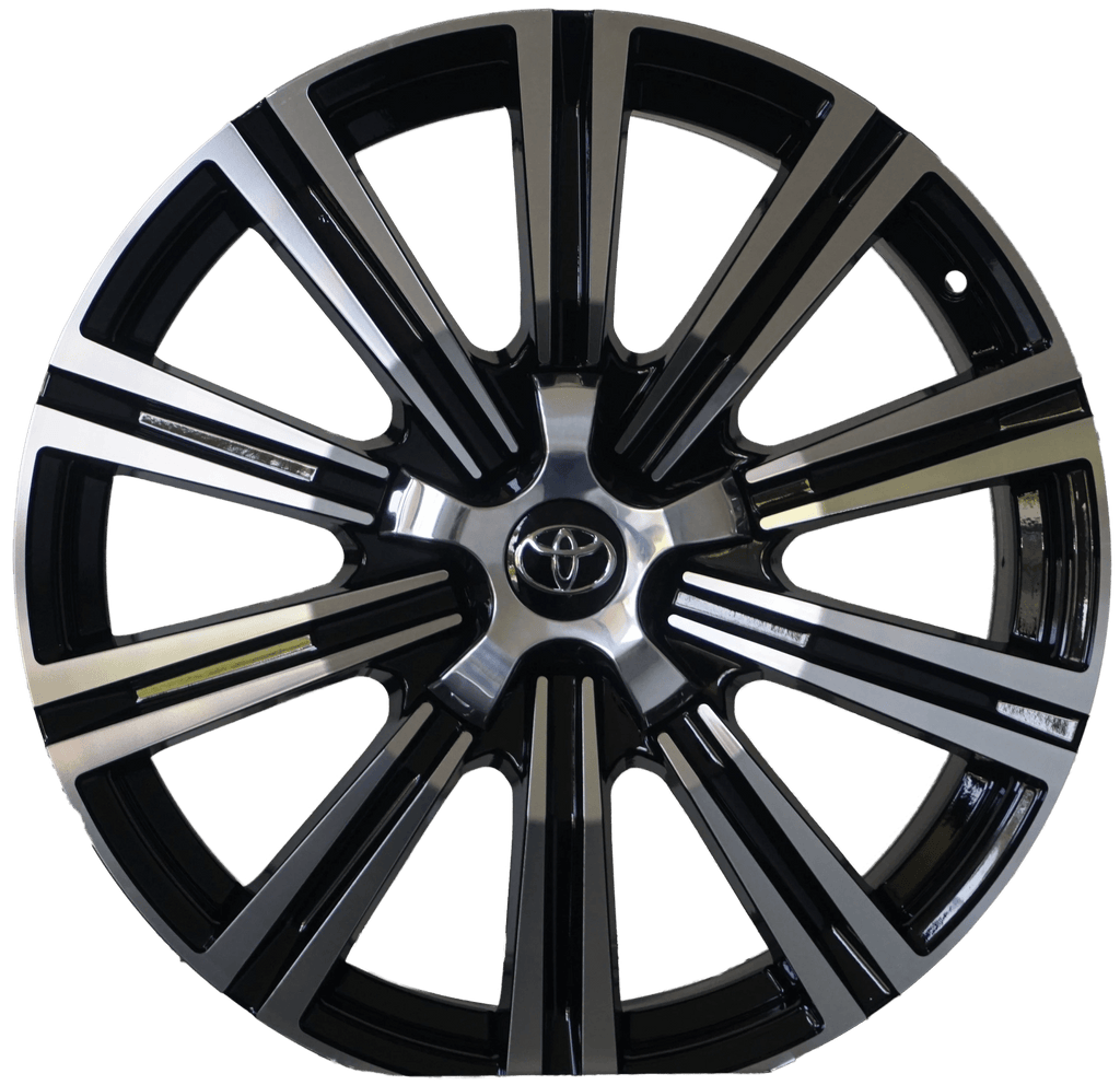 21 INCH TOYOTA RIMS FIT TUNDRA SEQUOIA LAND CRUISER RIMS LEXUS LX 460 470 570 WHEELS