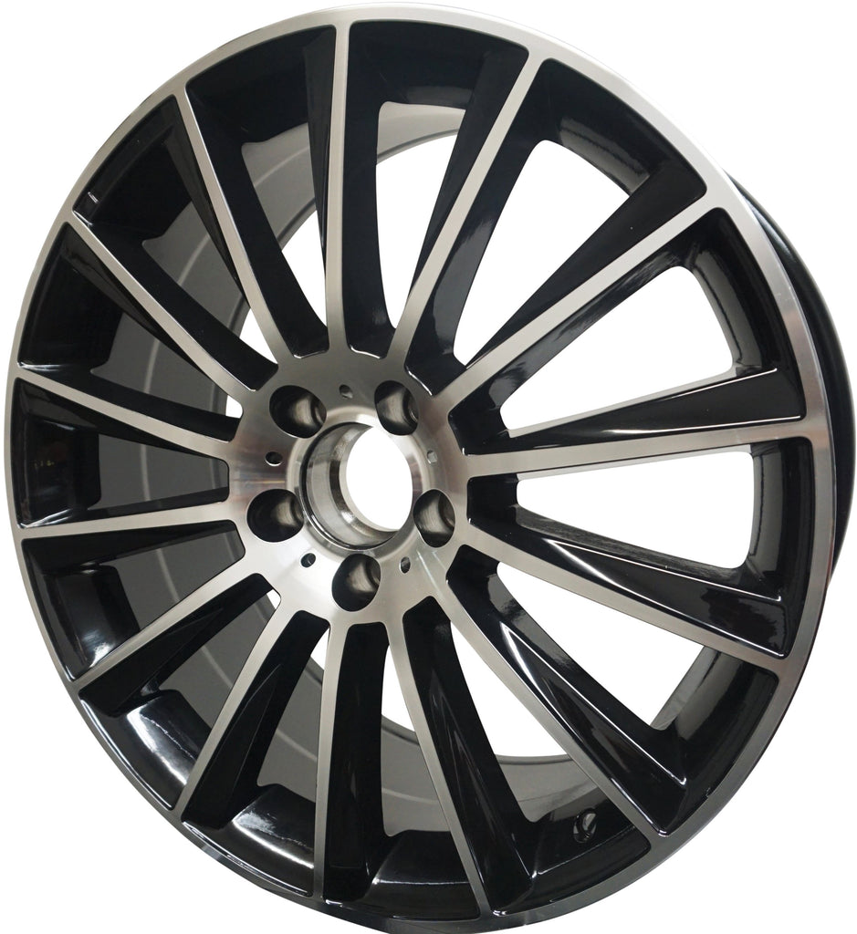 19 Inch Rims Fit Mercedes S600 S500 S550 S63 S400 S450 S350 CL S Class Wheels - Elite Custom Rims