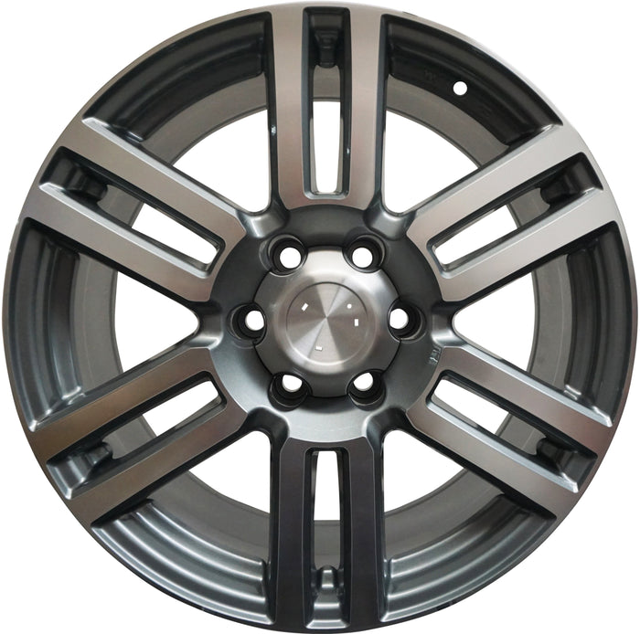 20 Inch Rims Toyota 4Runner FJ Cruiser Tacoma Pre Runner Platinum Wheels - Elite Custom Rims