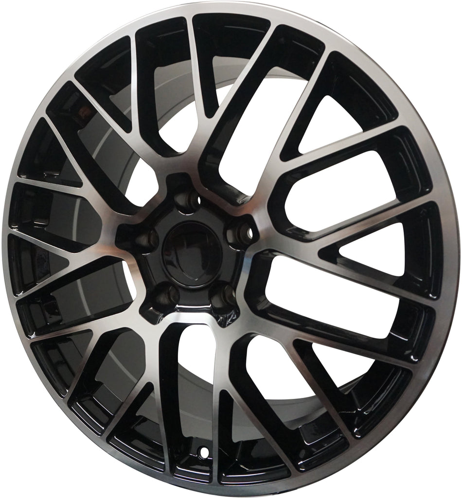 20 Inch Rims Fits Porsche Cayenne Base Turbo S GTS Turbo 2 Mesh Wheels - Elite Custom Rims