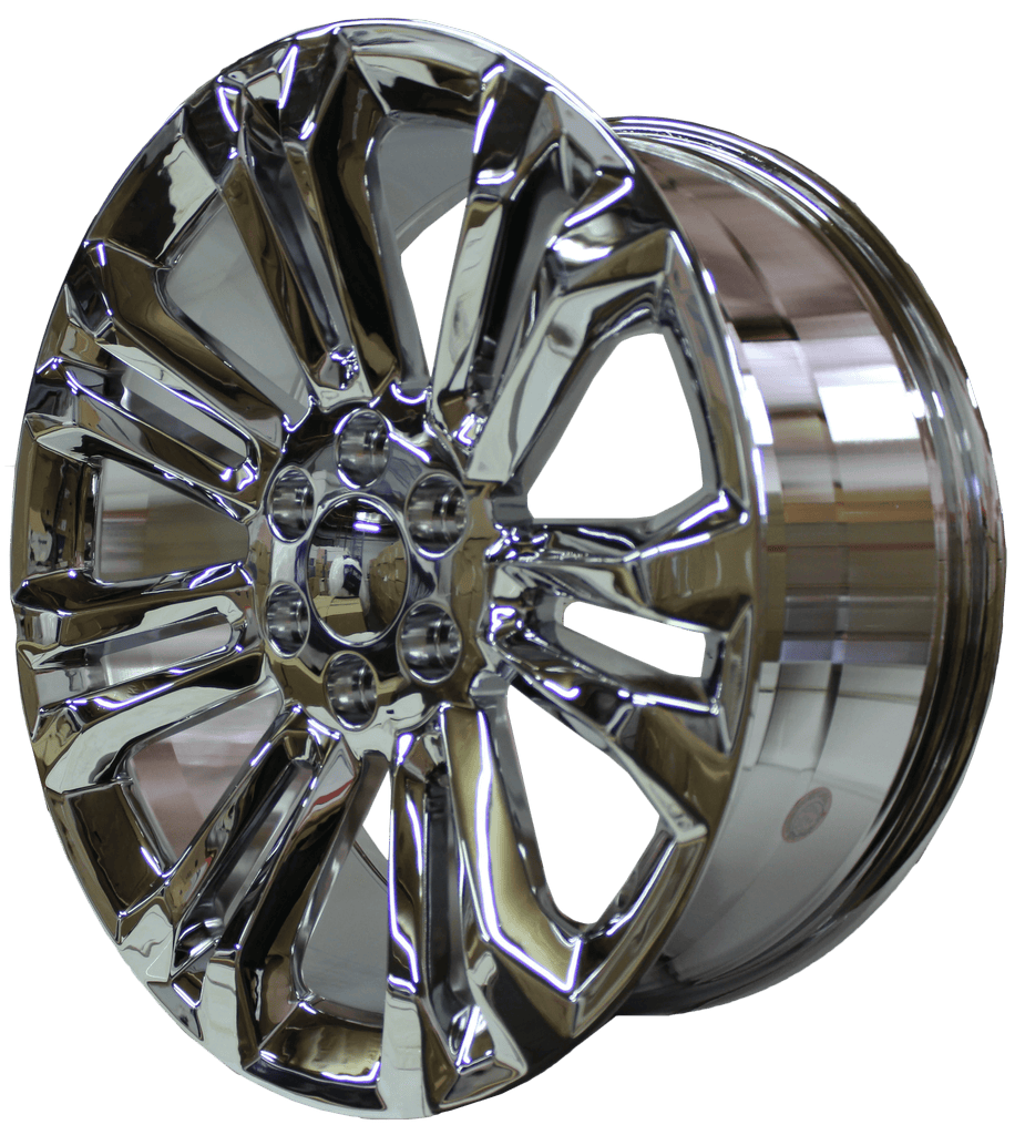 22 Inch GMC/Chevy Tahoe Sierra Denali Wheels Silverado Suburban Yukon Chrome Finish Rims