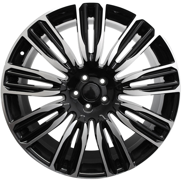 "22"" WHEELS FITS ALL VELAR EVOQUE FREELANDER AUTOBIGRAPHY HSE RANGE ROVER RIMS"
