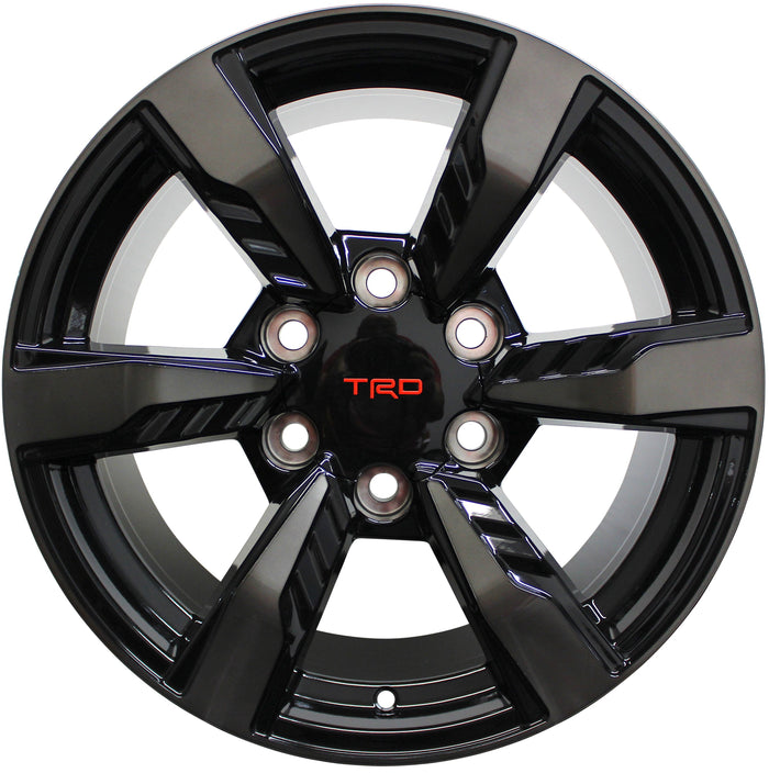 17 Inch Toyota TRD Style Rims Fits 4Runner FJ Cruiser Tacoma Wheels - Elite Custom Rims