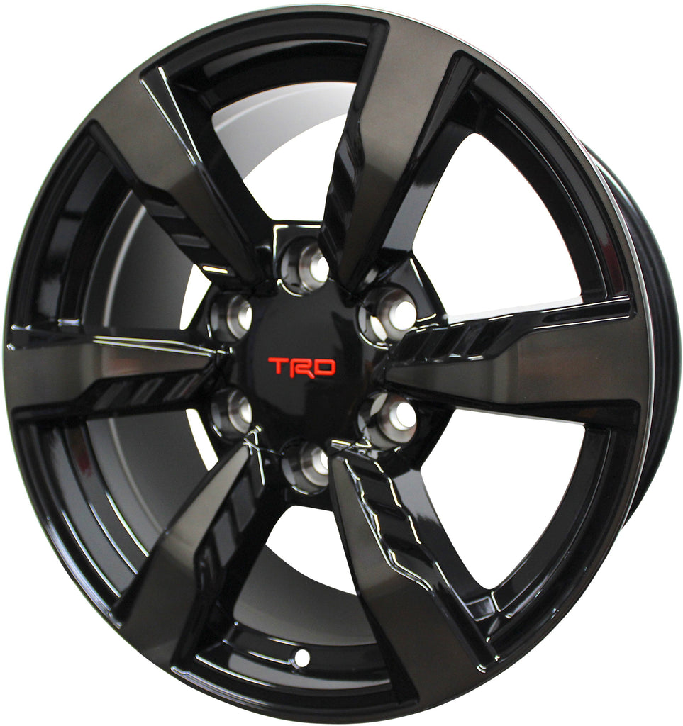 20 Inch Toyota TRD Style Rims Fits 4Runner FJ Cruiser Tacoma Wheels - Elite Custom Rims