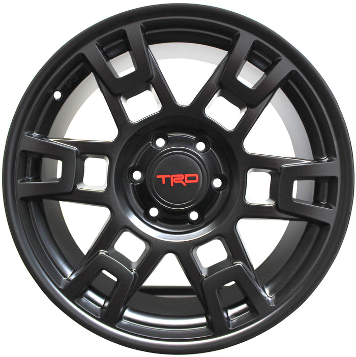 17 Inch Toyota TRD PRO Style Rims Fit 4Runner FJ Cruiser Tacoma SEMA Wheels - Elite Custom Rims