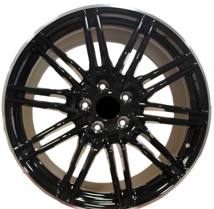 20 Inch Rims Fits Porsche Cayenne Turbo S GTS Base Gloss Black Wheels
