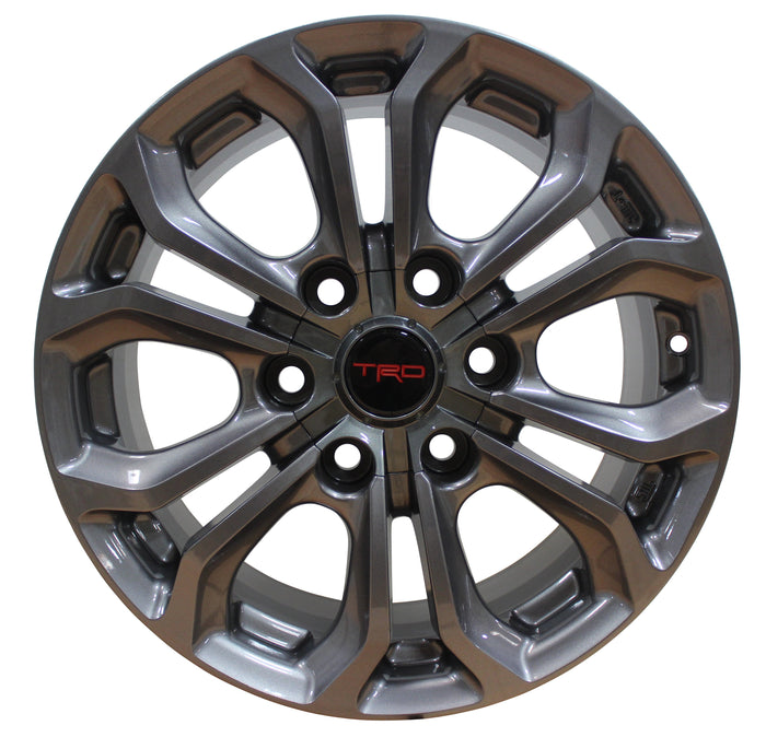 17 Inch Toyota TRD PRO Style Rims Fit 4Runner FJ Cruiser Tacoma Wheels - Elite Custom Rims