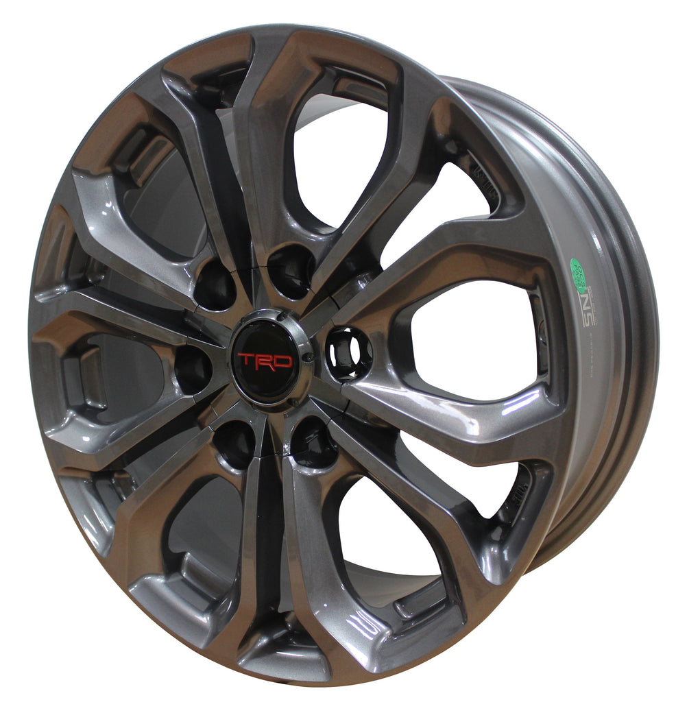 17 Inch Toyota TRD PRO Style Rims Fit 4Runner FJ Cruiser Tacoma Wheels