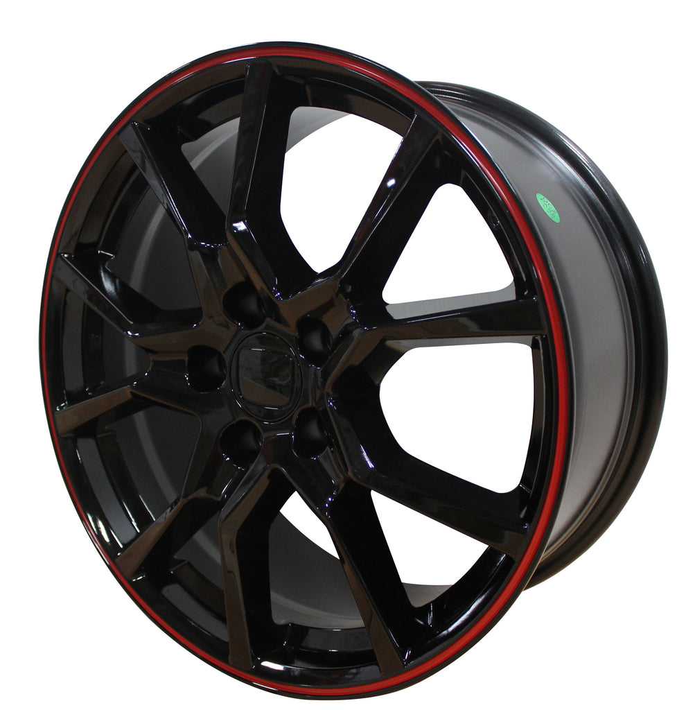 18 Inch Honda Civic Accord Rims Crosstour EX LX Coupe Sedan SI CRV Type R Wheels