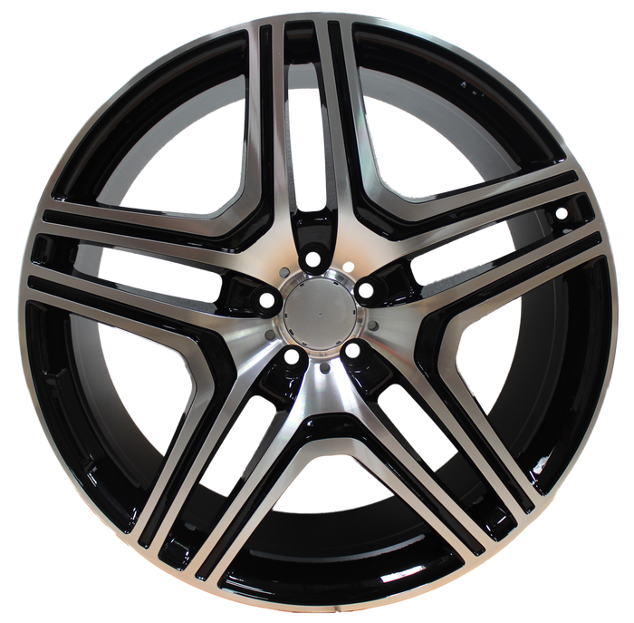 20 Inch Rims fit Mercedes ML GL GLS GLE ML63 ML550 ML500 ML400 GL63 GL550 GLE GLS Machined Wheels