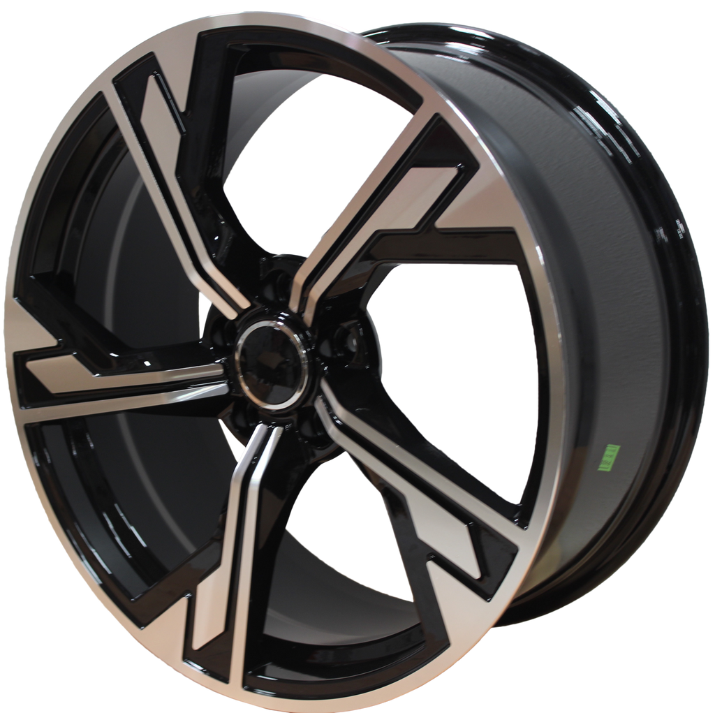 19 Inch Audi Rims A4 A5 A6 A7 S4 S5 S6 S7 RS4 RS5 RS6 Q3 Q5 Black Machined 2020 Wheels