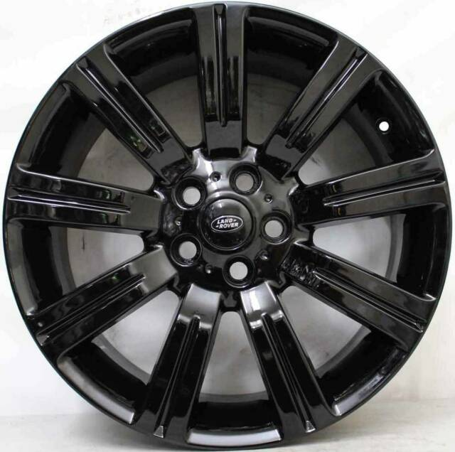 22 INCH RIMS FIT RANGE ROVER SPORT LR3 LR4 & HSE STORMERS WHEELS GLOSS BLACK