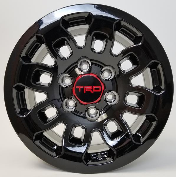 18 INCH TOYOTA TRD PRO STYLE RIMS FITS 4RUNNER FJ CRUISER TACOMA SEMA OFFROAD STYLE WHEELS