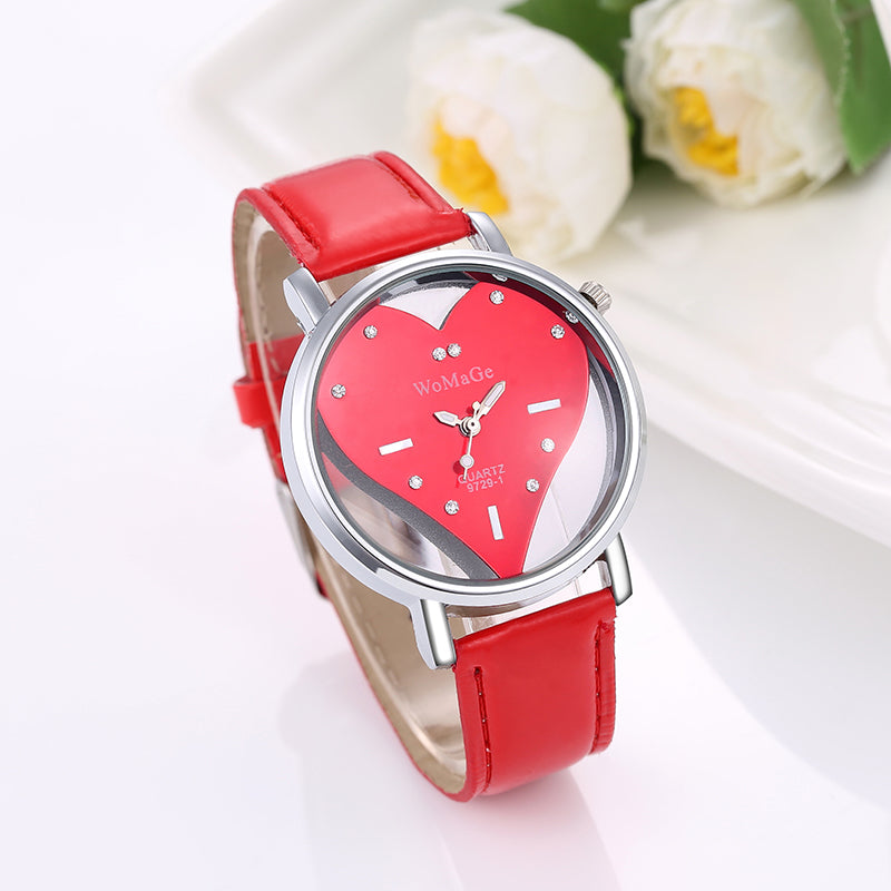 watches luxury item valentine chronograph whatches japan movt logo ladies women brand bezel rose quartz julius