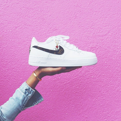LV Low-Top Nike Air Force Ones