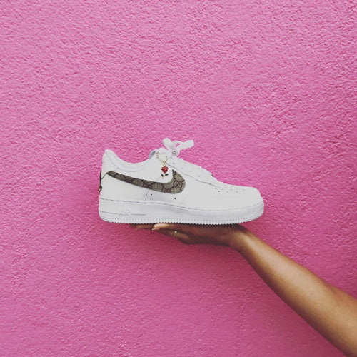 GG Low-Top Nike Air Force Ones