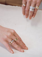 J. Hannah Strata Collection of rings