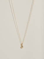 J. Hannah Diamond Form Pendant Necklace in 14k Gold