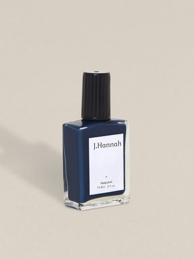 J. Hannah nail polish in shade Blue Nudes.