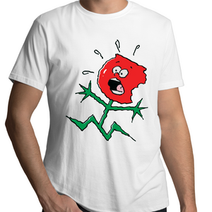 TOFFEE APPLE on WHITE - Mens T-Shirt