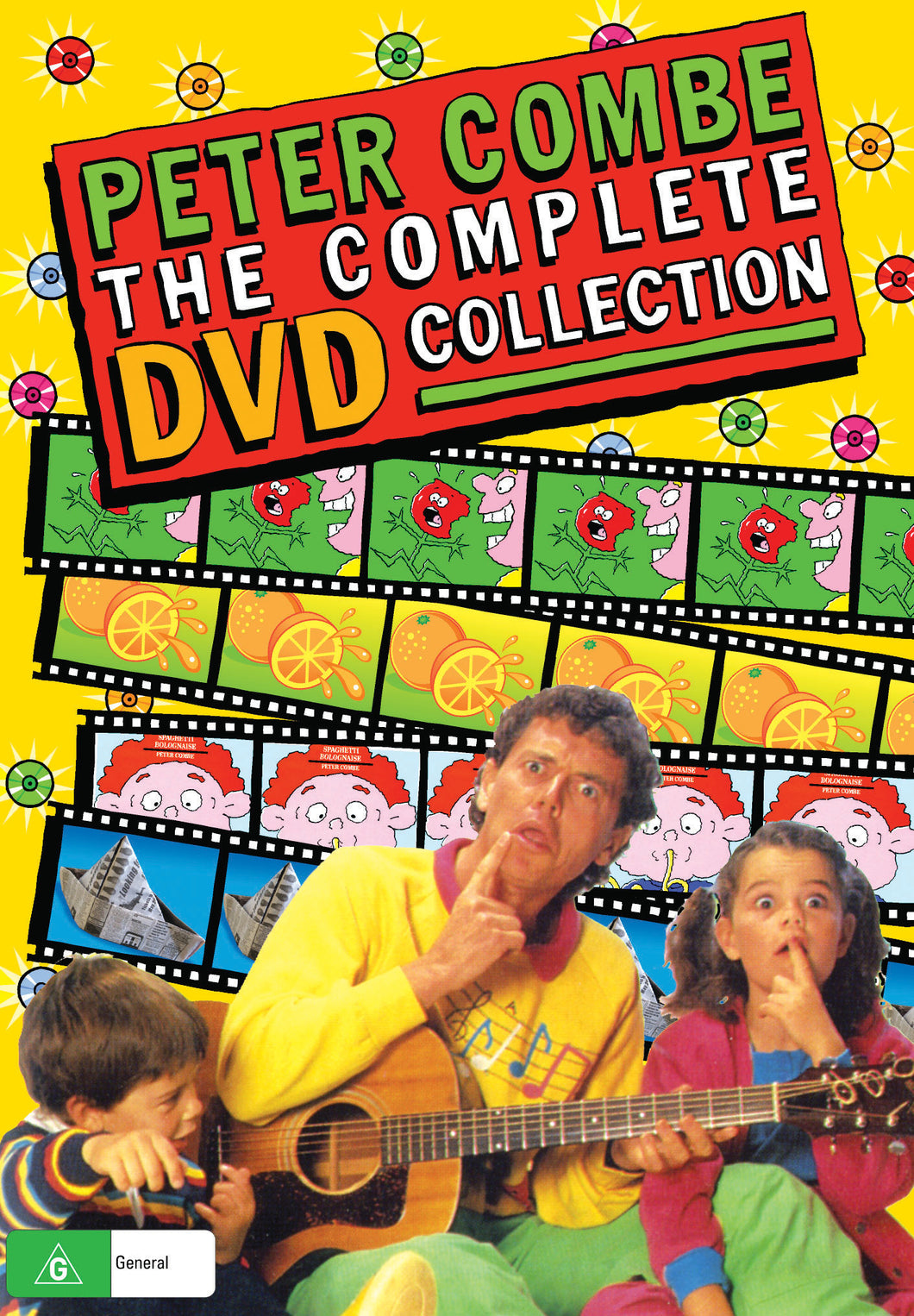 Peter Combe The Complete DVD Collection (Triple Pack)