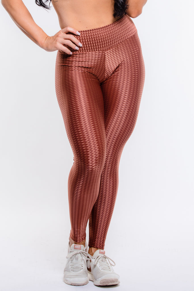 Terracota Diamond Shine Hi-Rise Legging