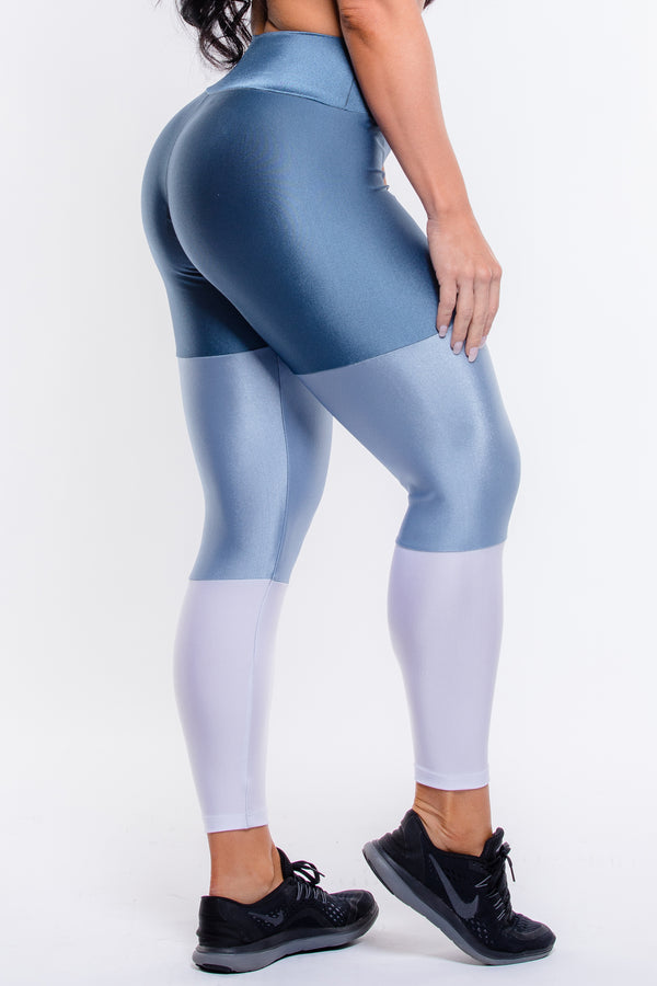 Blue Degrade Hi-Rise Legging