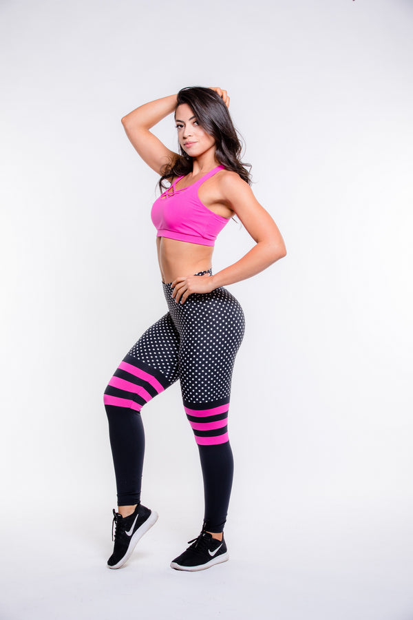 Polka Dots Collegiate Legging