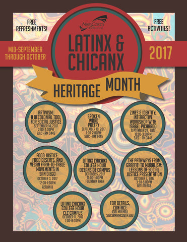 Latinx and Chicanx Heritage Month